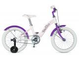 """Велосипед AUTHOR (2018) Bello II 16"""", рама 9"""", цвет-белый // фиолетовый"""