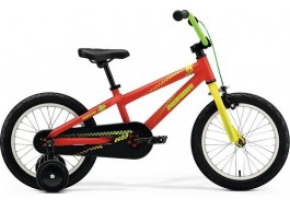 "Велосипед 16"" MERIDA MATTS J.16 MATT RED (YELLOW/GREEN)"