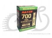 "Камера 700 18/25"" Maxxis AV Schrader 48мм  0,9мм"