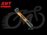 Насос Zefal Mini Jet (8288E),оранжевый пластиковый до 7 bar, 90g, 230мм,