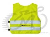 Жилетка безопасности, желтая, Longus, размер XL 537