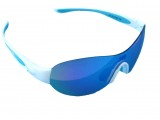 Очки TW-TL5302 с одной поляризованной REVO линзой+футляр+чехол, бело-голубые женские