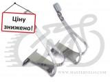 Туклипсы Exustar метал. с креплением, под ремешки, для 43-46