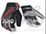 Перчатки TW-2370 MTB с закрытыми пальц. темно-серые