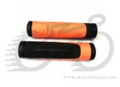 Грипсы Author AGR-600-D3,130 мм, оранжевый AUTHOR 2006