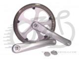 Шатуны PROWHEEL FORGED PRO-646 46T 175mm silver 5 спиц