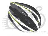 Шлем AUTHOR Rocca, зелено/черно/белый, размер 54-58 cm