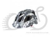 Шлем SPACE INVADER размер 54-58см серо-белый