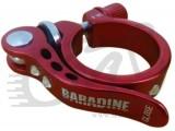 Подседельный зажим BSC01, красный, 34,9мм Baradineс шайбой