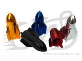 Колпачек для камер AV(schrader) Ракета красн, алюминий