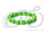 Браслет на руку ланцюг зелений