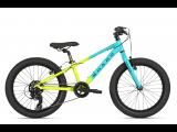"Велосипед Haro Flightline 20"" Plus Matte Teal / Yellow Fade"