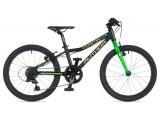 """Велосипед AUTHOR (2020) Cosmic 20"""", рама 10"""", колір-чорний // зелений"""