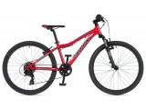 """Велосипед AUTHOR (2020) A-Matrix SL 24"""", рама 12,5"""", колір-червоний (блакитний) // чорний"""