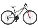 """Велосипед AUTHOR (2020) A-Matrix 26"""", рама 13,5"""", колір-сріблястий // червоний"""