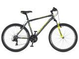"""Велосипед AUTHOR (2020) Outset 26"""", колір-сірий // неоново жовтий"""