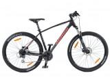 """Велосипед AUTHOR (2020) Impulse II 29"""", колір-чорний червоний) // чорний"""