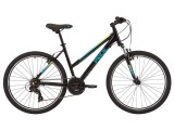 """Велосипед 26"""" Pride Stella 6.1 черный/бирюзовый 2020"""