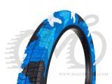 """Покрышка 20"""" Fiction TROOP 2.3 (55-65 PSI) синий камуфляж"""