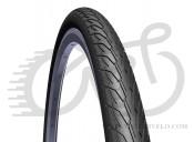 Покрышка 700 x40C (42-622) Mitas (Rubena) FLASH V66 Classic LONG WAY (LW) STOP THORN (ST) 3 mm + REFLEX (RS) черный
