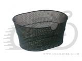 Корзина BELLELLI BICI металлическая, овальная, черная