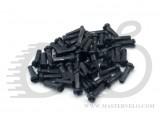 Ниппель на спицу Mach1 латунный, черный, 2/12мм (цена - без покупки спиц)