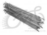 Спица 14G SLE (Тайвань), 262 мм., нерж., серебрист., без ниппеля
