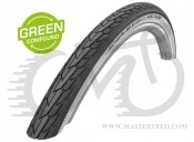 Покрышка 27.5x1.40 650x35B (37-584) Schwalbe ROAD CRUISER KevlarGuard B/W HS484 Green Compound, 50EPI (11101269)