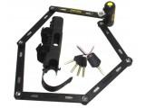 Замок складной ONGUARD REVOLVER Link Plate X4P 112см. 4 ключа + 1 с подсветкой LCK-27-70