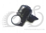 Звонок X17 стальной ударный, черный с пружинной