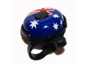 Звонок X17 стальной, с флагом Австралии