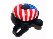 Звонок X17 стальной с флагом США