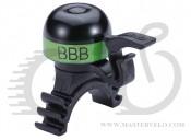 """Звонок BBB BBB-16 """"MiniFit"""" черно-зеленый (8716683095111)"""