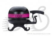 "Звонок BBB BBB-14 ""EasyFit Deluxe"" черно-малиновый (8716683101171)"