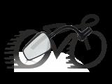 Зеркало Zefal Espion (4750) в руль, черное