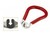 Ключ ICE TOOLZ 08C3 спиц. 3.45mm/0,136 нип. красн.