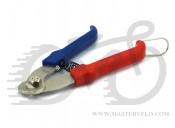 Кусачки X17 для тросиков и рубашек малые, красно-синие