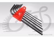 Набор шестигранников BikeHand YC-613 (2/2.5/3/4/5/6mm)