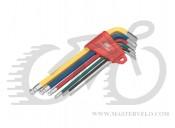 Набор шестигранников BikeHand YC-613-6C (2/2.5/3/4/5/6mm)