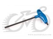 Ключ шестигранник Park Tool с Р-рукояткой: 6mm