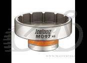 "Съёмник каретки Ice Toolz M097 для Hawk Racing BB3086, RaceFace® Cinch, Rotor® BSA30, Zipp® Vuma, Cr-Mo сталь под стандарт 1/2"""