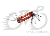 Ключ Ice Toolz 91B4 состоит из шестигранников 3x4x5x6, отвёрток +/- и торкса т-25