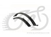 """Крила для велосипеду в комплекті Author AXP-City 60  26""""-29""""/60 mm, чорні 16100538"""