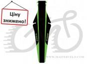 """Крыло Zefal 28"""" Shield Lite M (2560D) 15грамм, под седло, черный с зеленым"""