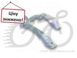 """Крылья комплект 24-28"""" Pl SIMPLA HAMMER 2 SDE быстросъемное крепление, белое"""