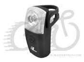 Світло заднє Longus PRETY 0,5W+2 LED, 4 функції , USB, чорний 398579