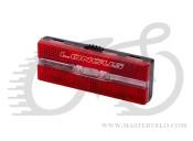 Світло заднє Longus RACK на 2 LED 1 ф-ція на багажник, 398589
