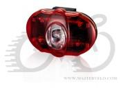 Фонарь светодиодный задний + батарейки INFINI I-406 Vista 3 SMD LED