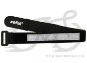 Светоотражающая полоса Zefal Doowah (1021) черная Nylon 380mm, комплект 2 шт.