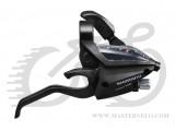 Гальмівна ручка/шифтер Shimano ST-EF500, правий, 8-зв, трос, чорний ОЕМ (STEF5002RV8AL)